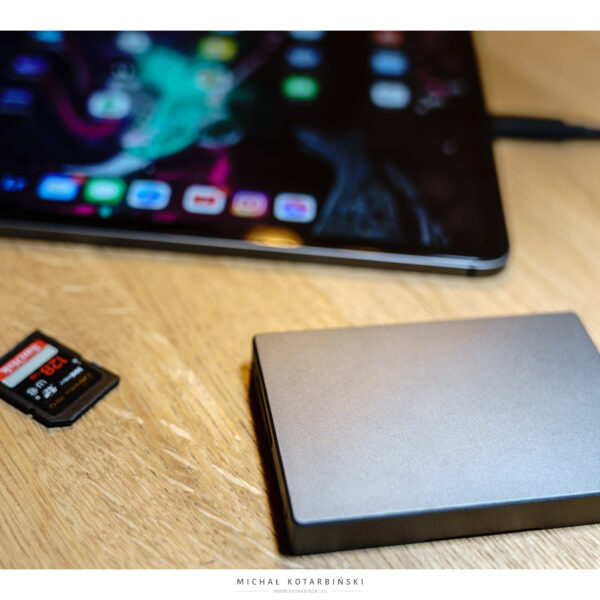 Angel Bird Dual SD Card Reader