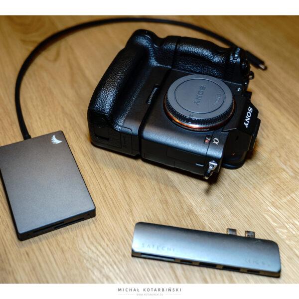 Angel Bird Dual SD Card Reader, Satechi, Sony A7R3